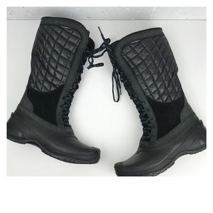 The North Face Thermoball Utility Boots Black Sz 9